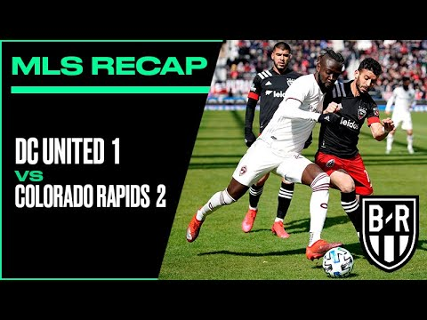 DC United 1, Colorado Rapids 2 | 2020 MLS Match Recap