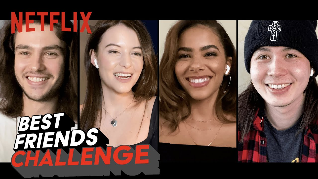 Ginny & Georgia Cast Take the Best Friends Challenge | Netflix