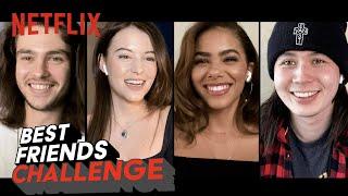 Ginny  Georgia Cast Take the Best Friends Challenge  Netflix