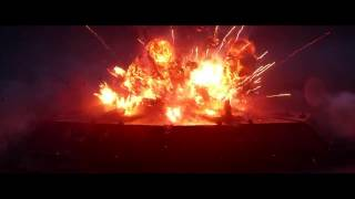 Star Wars The Force Awakens. Entire Space Battle HD