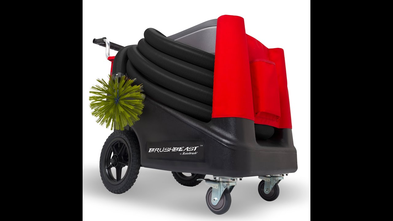 Rotobrush Brushbeast Compact Air Duct Cleaning Machine