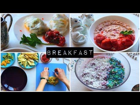 ИДЕИ ДЛЯ ЗАВТРАКА - Простые Полезные Рецепты, Правильное Питание