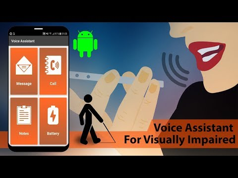 Voice Assistant Android App For Visually Impaired