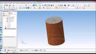 Построение геометрических тел в программе Компас 3D