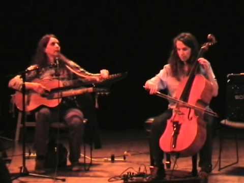 Sue Ann Harkey and Lori Goldston at Magma Fest, 3/18/11