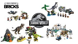 Lego Jurassic World: Legend of Isla Nublar Compilation of All Sets