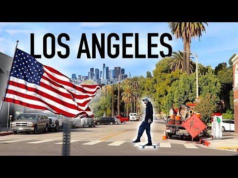 ロサンゼルスでスケボーしまくる!