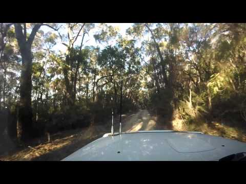 4WD on Tianjara plateau in Morton National Park NSW