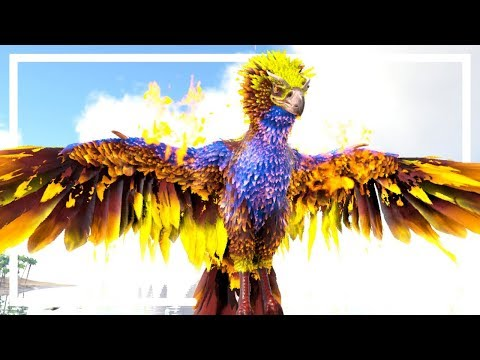 MY VERY FIRST PHEONIX! - Ark Survival Evolved Modded S2EP17