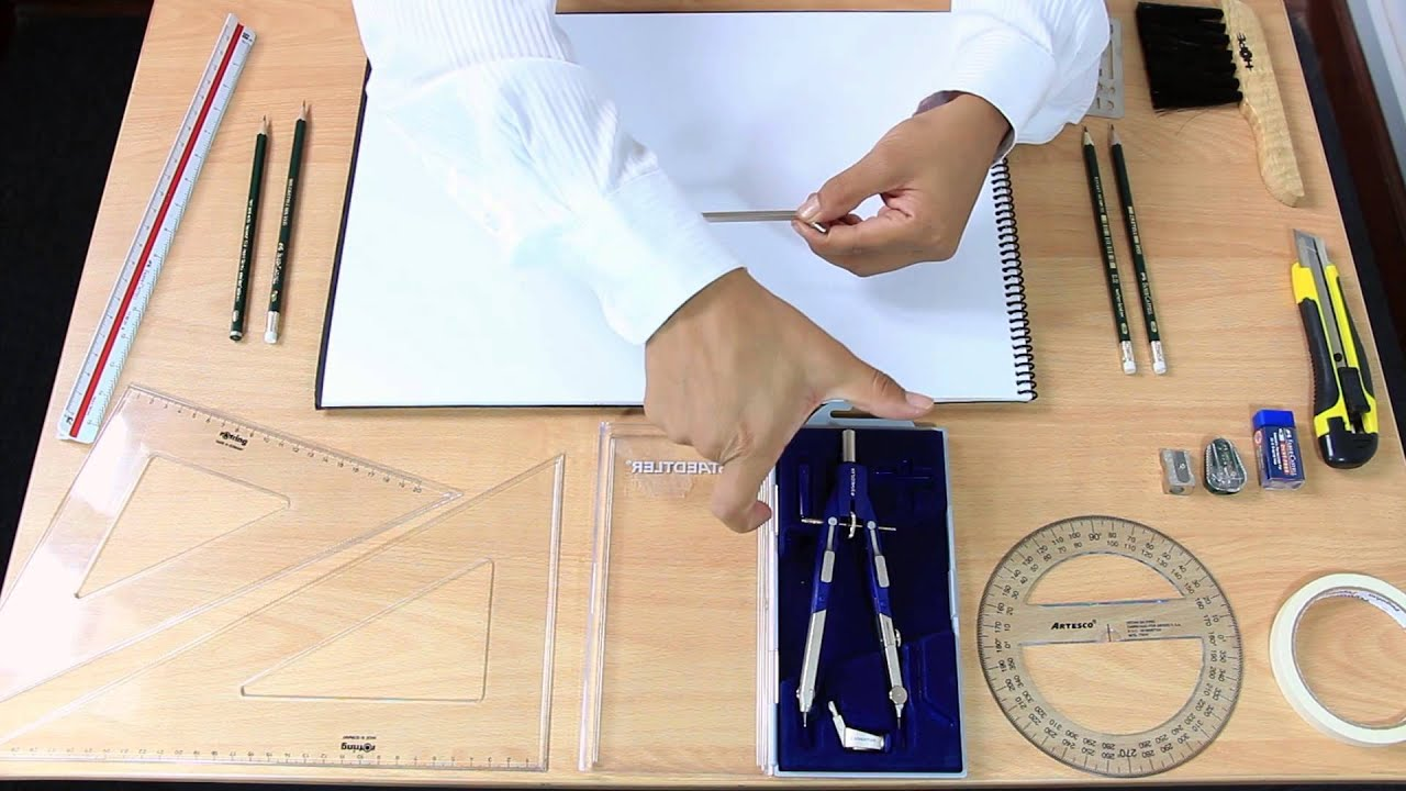 Uso de instrumentos de dibujo de ingeniera  YouTube