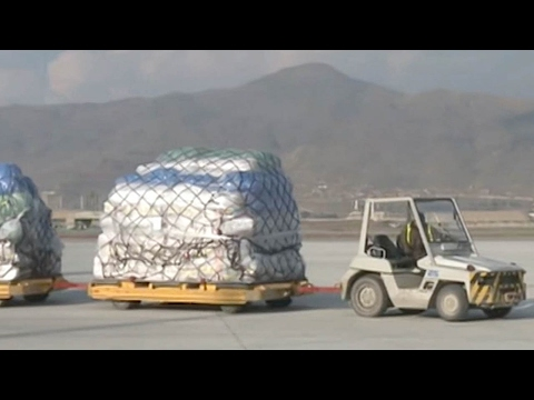 Chinese humanitarian aid arrives in Afghanistan after snow storms