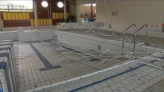 Chute des plafonds à la piscine de Dieppe