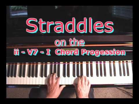 Straddles On The Ii V7 I Chord Progression Youtube