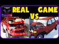 BeamNG drive vs Real Life - Crash Physics & Damage Comparison #3