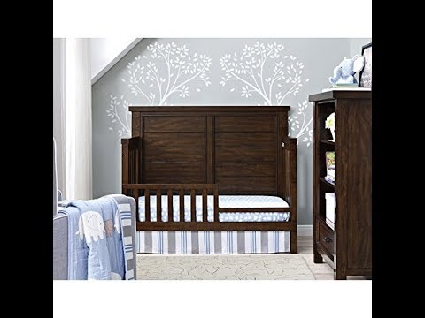 Dorel Living Bertini Baby Timber Lake Toddler Guard Rail, Dark Walnut