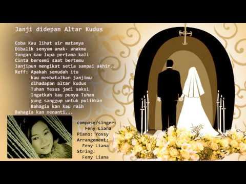 lagu Rohani Kristen Janji di depan altar kudus