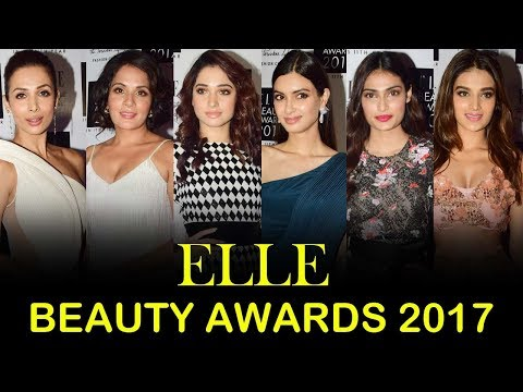 ELLE Beauty Awards 2017 Red Carpet | Tamannaah Bhatia, Malaika Arora, Nidhhi Agerwal, Richa Chadda