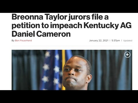 Jurors File A Petition To Impeach AG Daniel Cameron