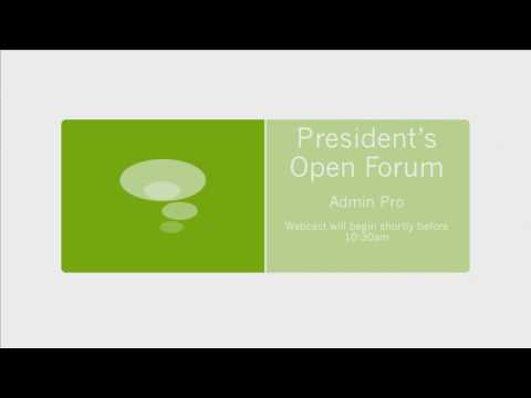 President's Open Forum - Colorado State University