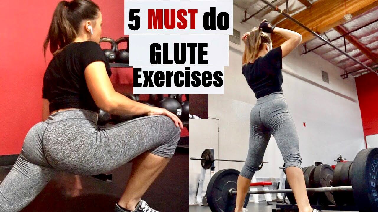 5 Must Do Glute Exercises  Grow And Build Your Booty -5880