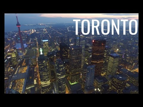 Downtown Toronto, Ontario, Canada in 4K