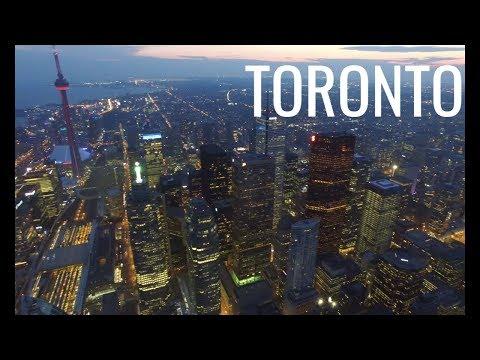Downtown Toronto, Ontario, Canada in 4K