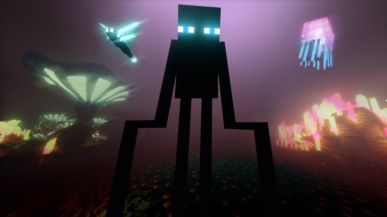 Abrí la dimensión oculta de Minecraft