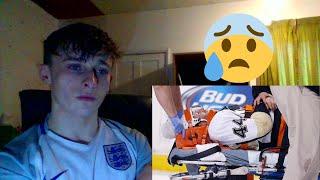British Soccer fan reacting to Ice Hockey (NHL)-  NHL: Worst Injuries
