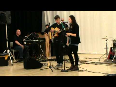 Kate Rusby's 'Who Will Sing Me Lullabies' performed by Minnie Crook and Harvey Thompson