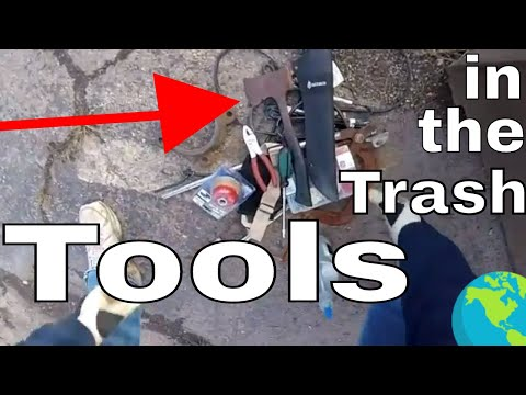 Found Tools In A Dumpster