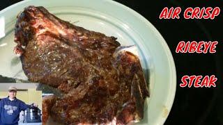 AIR CRISP Ribeye Steak Ninja Foodi