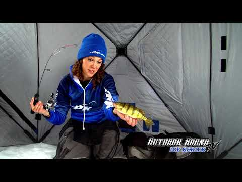 Outdoor Bound TV Devils Lake Perch Ice Fishing EP178