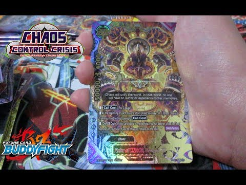 Chaos Control Crisis Booster Box Opening - Buddyfight X