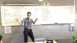 Calculus of Exponential Products (3 of 3: Using the insight from previous parts to sketch function)
