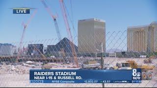 Update on construction for Raiders stadium