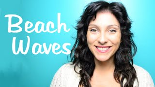 How to: Beach Waves with a Flat Iron | Instant Beauty ♡