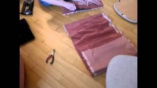 видео Обивка мебели на дому в Москве. Стоимость обивки мебели в ателье Кулагин и Партнёры