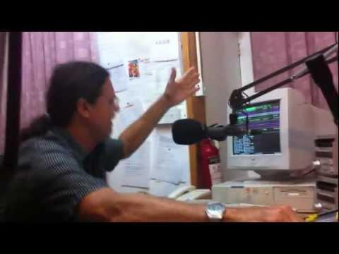 Radio Paradise FM, Seychelles.Meeting DJ Owen at the Radiost