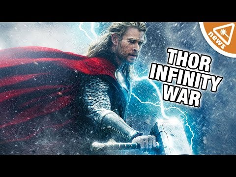 Why Thor's Hammer Is Creating Problems for Infinity War! (Nerdist News w/ Jessica Chobot)