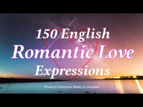 150 English Romantic Love Expressions 💕 🍷