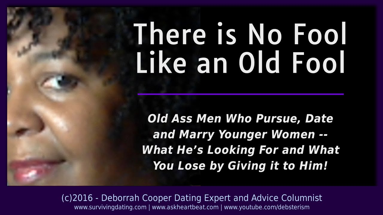 dating a younger guy advice for women