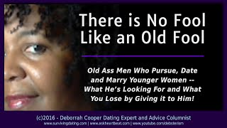 Advice on dating an older guy