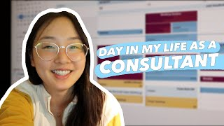 Work Day as a Consultant | Quarantine Vlog