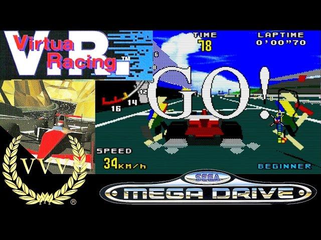 Virtua Racing - Mega Drive