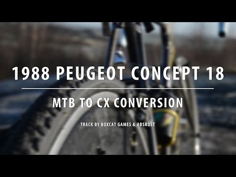 Building A Cyclocross Bike For Under £300 - 1988 Peugeot Concept 18