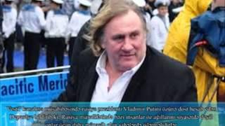 Fransalı məşhur aktyor Jerar Depardye Bakıya gəlib