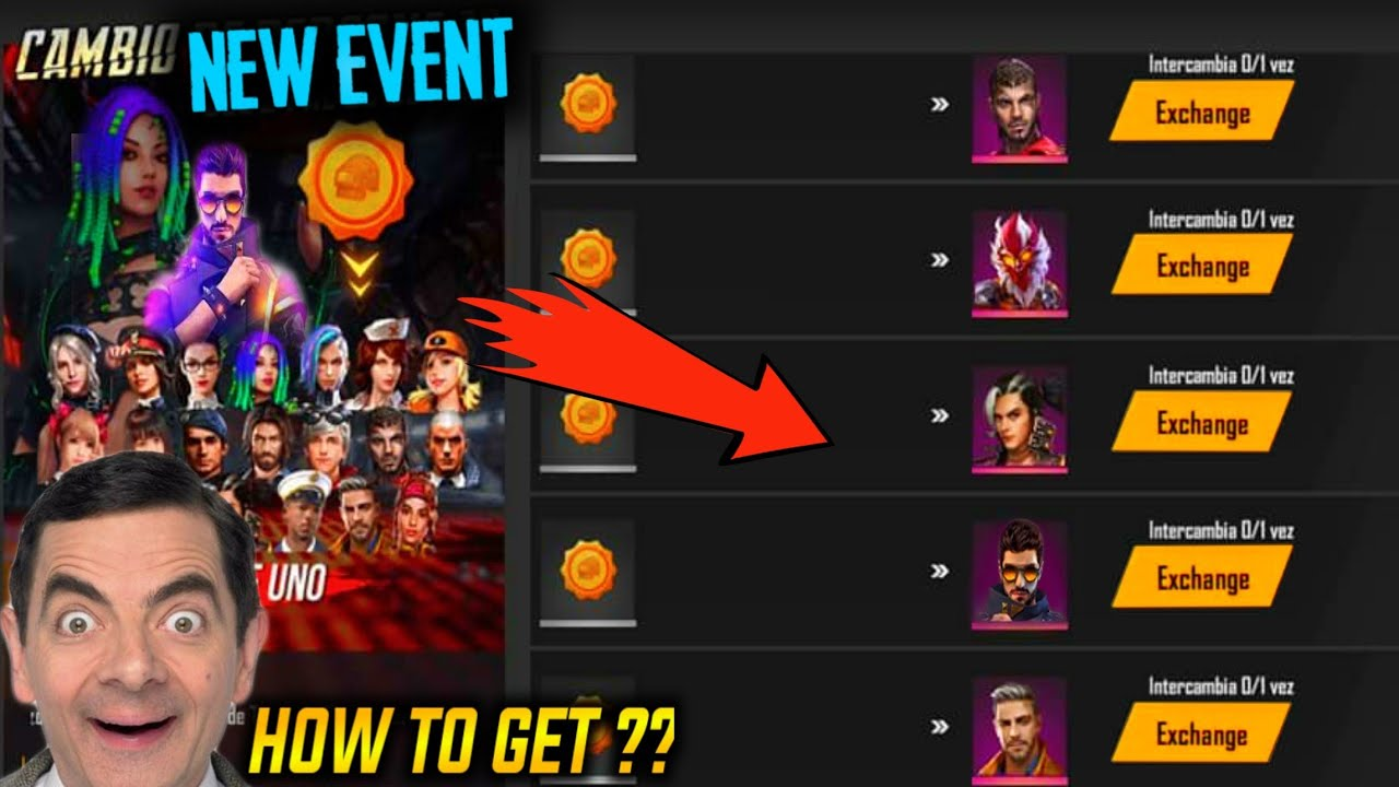 Free All Characters In Upcoming Event How To Get Garena Free Fire Youtube