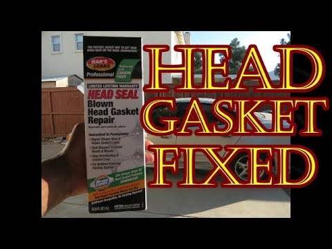 Learn How To Fix A Blown Head Gasket In Under An Hour For Less Than $50-  Does It Work