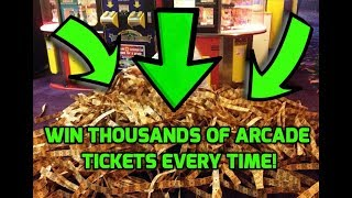Top 5 Arcade Hacks! - WINNING EVERY game JACKPOTS for UNLIMITED TICKETS  - ALL WORKING!