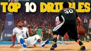 NBA 2K16 Top 10 Crossovers & Ankle Breaker Dribble Moves of the Week #2